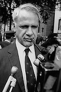 James Rodney Schlesinger - February 15, 1929 – March 27, 2014 - was an American economist and public servant who was best known for serving as Secretary of Defense from 1973 to 1975 under Presidents Richard Nixon and Gerald Ford. He became America's first Secretary of Energy under Jimmy Carter.