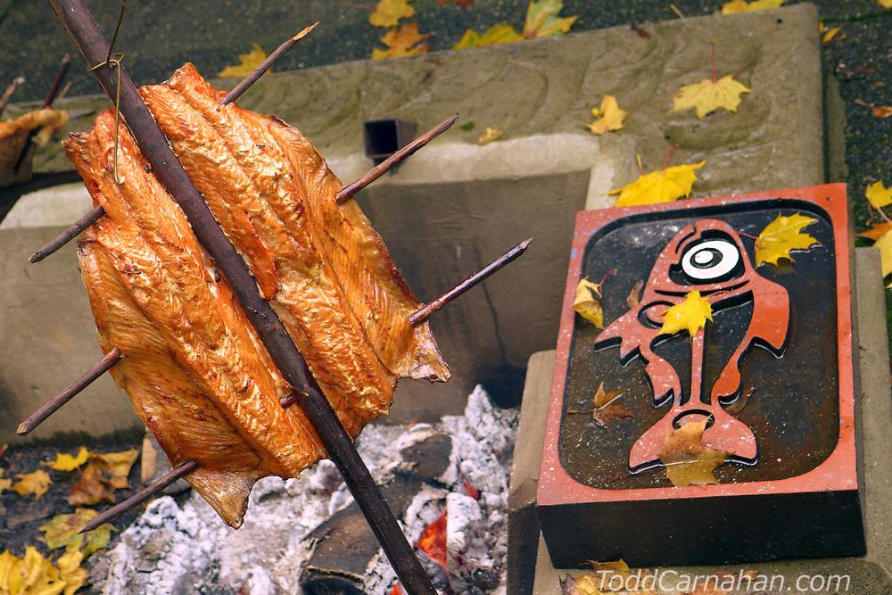 salmon cook pic'qun