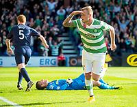 18/10/14 SCOTTISH PREMIERSHIP<br /> ROSS COUNTY v CELTIC<br /> GLOBAL ENERGY STADIUM - DINGWALL<br /> Celtic striker John Guidetti celebrates after scoring the opening goal of the game