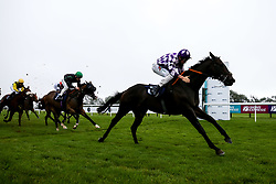 Wiff Waff ridden by Finley Marsh trained by Adrian Wintle /wins the attheraces.com Handicap - Mandatory by-line: Robbie Stephenson/JMP - 19/08/2020 - HORSE RACING - Bath Racecourse - Bath, England - Bath Races