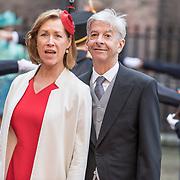 NLD/Den Haag/20170919 - Prinsjesdag 2017, Ronald Plasterk en partner Els Beumer