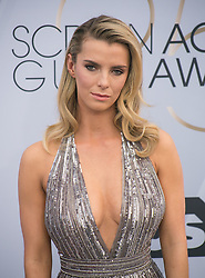 January 27, 2019 - Los Angeles, California, U.S - Betty Gilpin at the red carpet of the 25th Annual Screen Actors Guild Awards held at the Shrine Auditorium in Los Angeles, California, Sunday January 27, 2019. (Credit Image: © Prensa Internacional via ZUMA Wire)
