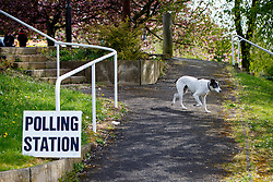 © Licensed to London News Pictures. 07/05/2015. LONDON, UK. People voting in the 2015 General Election at Hall Park Centre Polling Station in Sheffield Hallam Constituency on Thursday, 7 May 2015. Photo credit: Tolga Akmen/LNP
