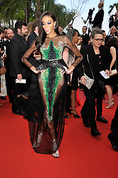 Winnie Harlowattending The Gangster, The Cop, The Devil premiere, during the 72nd Cannes Film Festival attending the Oh Mercy! premiere, during the 72nd Cannes Film Festival.
