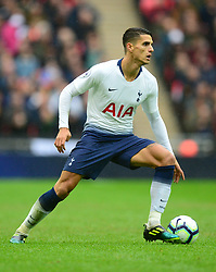 Erik Lamela of Tottenham Hotspur - Mandatory by-line: Alex James/JMP - 06/10/2018 - FOOTBALL - Wembley Stadium - London, England - Tottenham Hotspur v Cardiff City - Premier League