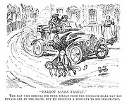 """""""Parrot Saves Family."""" The man who derives his news solely from the contents bills may not always get at the facts, but he receives a stimulus to his imagination."""