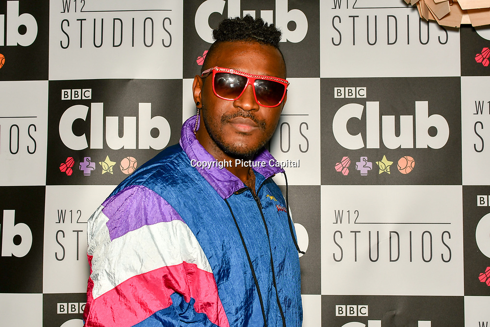 Alfie Carreira attend BBC Club at W12 Studios Lunch party on 14 March 2019, London, UK.