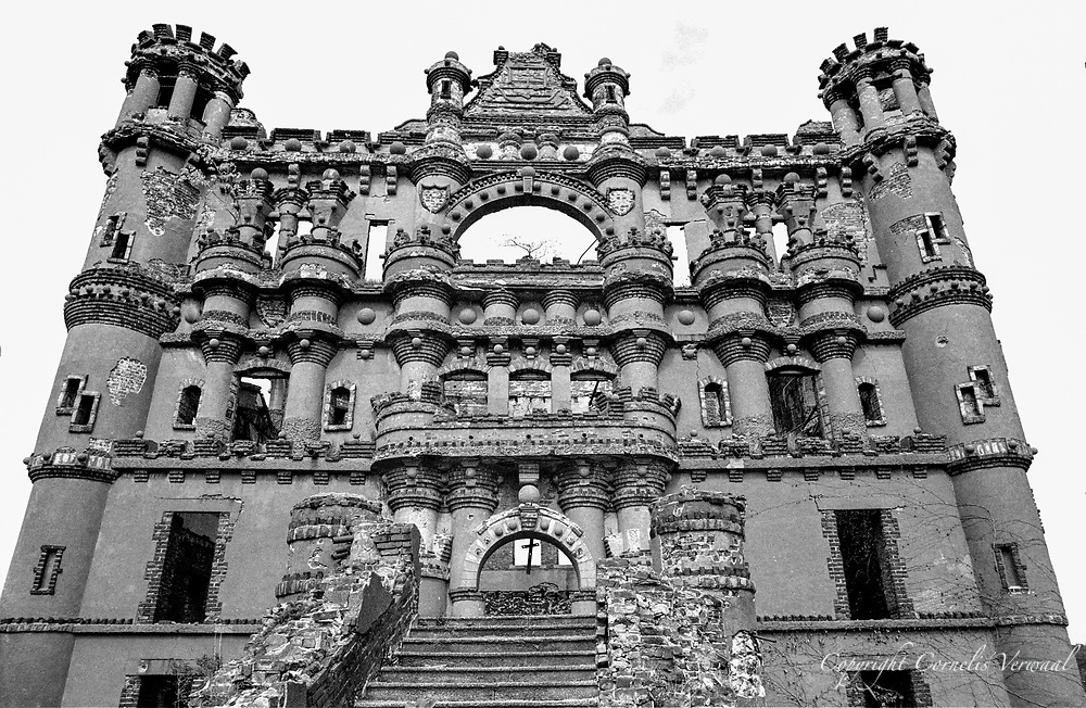 Bannerman Castle on Pollepel Island in the Hudson River