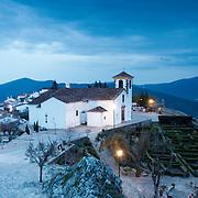 Marvão's main church by dusk