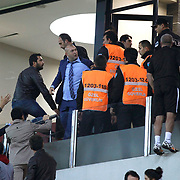 Kayserispor Erciyesspor's and Besiktas's incident during their Turkish superleague soccer match Kayserispor Erciyesspor between Besiktas at Kadir Has Stadium in Kayseri Turkey on Monday 27 October 2014. Photo by Aykut AKICI/TURKPIX
