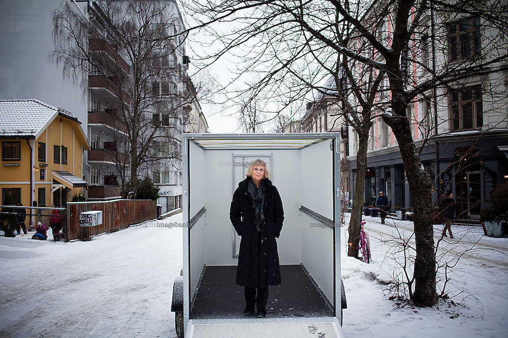 Oslo, Norge, 18.01.2013. Jorunn Hareide har skrevet boken Magdalena Thoresen. Hareide (født 1940) var professor i nordisk litteratur ved Universitetet i Trondheim (1983-93) og ved Universitetet i Oslo (1993-2010).