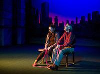 "Winnipesaukee Playhouse dress rehearsal for ""Sylvia"".  Karen Bobotas for the Laconia Daily Sun"