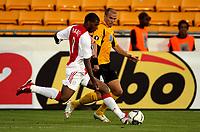 Fotball , 13. september 2006 , Start - Ajax 2-5 , UEFA-cup, <br /> Ryan Babel , Ajax og Steinar Pedersen , Start