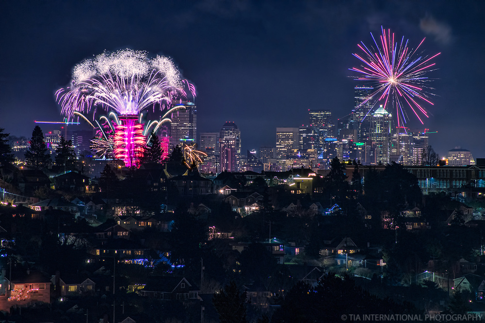 Seattle Welcomes the Year 2019