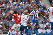 Brighton & Hove Albion winger Anthony Knockaert during the EFL Sky Bet Championship match between Brighton and Hove Albion and Barnsley at the American Express Community Stadium, Brighton and Hove, England on 24 September 2016. Photo by Bennett Dean.