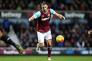 Andy Carroll of West Ham United in action. Barclays Premier league match, West Ham Utd v Stoke city at the Boleyn Ground, Upton Park  in London on Saturday 12th December 2015.<br /> pic by John Patrick Fletcher, Andrew Orchard sports photography.