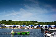Henley on Thames, England, United Kingdom, 28th June 2019, Henley Royal Regatta Qualifiers, time trial, on Henley Reach, [© Peter SPURRIER/Intersport Image]<br /> <br /> 16:34:22