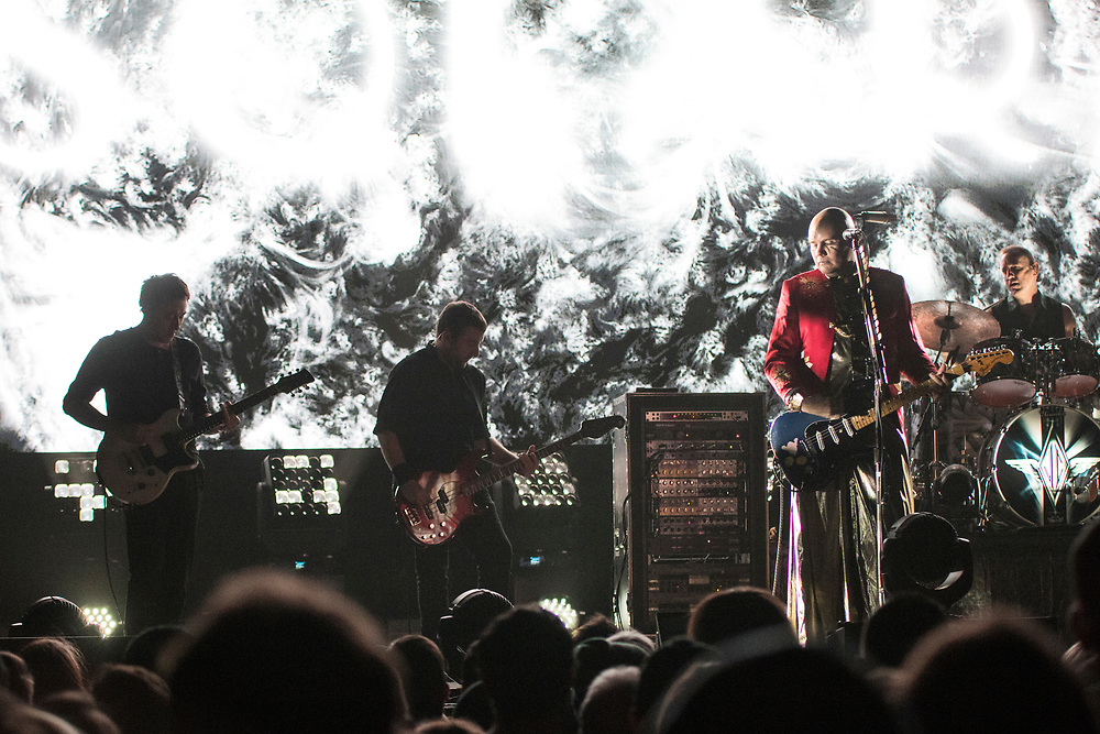 The Smashing Pumpkins open their 30th Anniversary Tour at The Sylvee in Madison, WI on November 28, 2018.