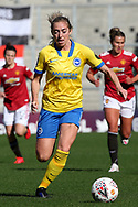 Brighton and Hove Albion midfielder Megan Connolly (8) during the FA Women's Super League match between Manchester United Women and Brighton and Hove Albion Women at Leigh Sports Village, Leigh, United Kingdom on 4 October 2020.