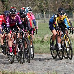 14-03-2021: Wielrennen: GP Oetingen: Oetingen: Nancy van der Burg: Amy Pieters