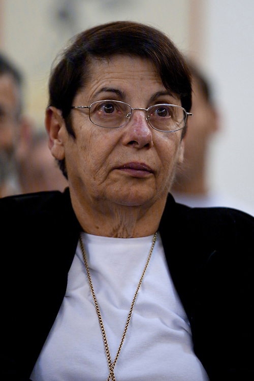 Israeli Supreme Court justice Miriam Naor attends the dedication of the Aharon Barak Center for Interdisciplinary Legal Research at the Hebrew University in Jerusalem, on December 22, 2010.