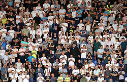 Derby County fans during the Sky Bet Championship match at the Madejski Stadium, Reading.