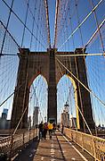 Brooklyn Bridge, Brooklyn, New York, NY