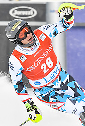 13.11.2016, Black Race Course, Levi, FIN, FIS Weltcup Ski Alpin, Levi, Slalom, Herren, 2. Lauf, im Bild Michael Matt (AUT) // Michael Matt of Austria  reacts after his 2nd run of mens Slalom of FIS ski alpine world cup at the Black Race Course in Levi, Finland on 2016/11/13. EXPA Pictures © 2016, PhotoCredit: EXPA/ Nisse Schmidt<br /> <br /> *****ATTENTION - OUT of SWE*****