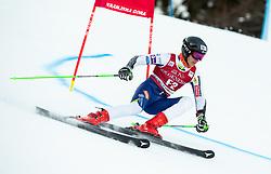 Forerunner Anze Gartner (SLO) during Ladies' Giant Slalom at 57th Golden Fox event at Audi FIS Ski World Cup 2020/21, on January 16, 2021 in Podkoren, Kranjska Gora, Slovenia. Photo by Vid Ponikvar / Sportida