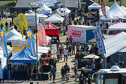 Vendor village at Arizona Bike Week's Cycle Fest at Westworld. USA. April 5, 2014.  Photography ©2014 Michael Lichter.