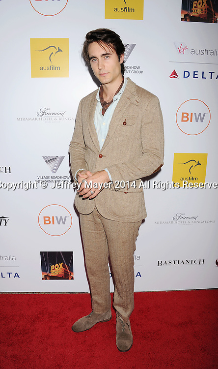 SANTA MONICA, CA- OCTOBER 26: Actor Oliver Edwin attends the 3rd Annual Australians in Film Awards Benefit Gala at the Fairmont Miramar Hotel on October 26, 2014 in Santa Monica, California.