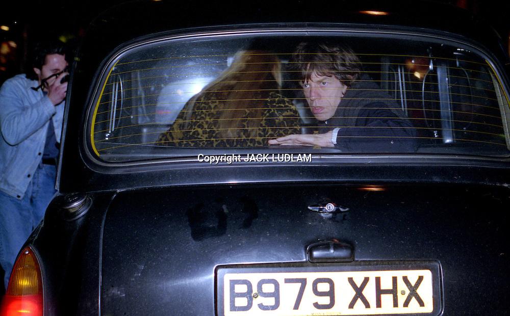 Mick Jagger Taxi 1990