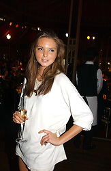 The HON.ANTALYA NALL-CAIN daughter of Lord Brocket at the party Belle Epoque hosted by The Royal Parks Foundation and Champagne Perrier Jouet held at the Lido Lawns of the Serpentine, Hyde Park, London on 14th September 2006.<br /><br />NON EXCLUSIVE - WORLD RIGHTS