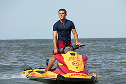 RELEASE DATE: May 26, 2017 TITLE: Baywatch STUDIO: Paramount Pictures DIRECTOR: Seth Gordon PLOT: Two unlikely prospective lifeguards vie for jobs alongside the buff bodies who patrol a beach in California STARRING: Zac Efron as Matt Brody. (Credit: © Paramount Pictures/Entertainment Pictures/ZUMAPRESS.com)