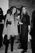 VIVIANA VIGANO; MARIA LINER, Launch of the Dutko Gallery  the first commercial space in London dedicated to Art Deco design. 18 Davies Street , Mayfair. London. 15 October 2015