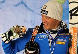 12.02.2011, Kandahar, Garmisch Partenkirchen, GER, FIS Alpin Ski WM 2011, GAP, Herren, AQbfahrt, im Bildbronze Medaille Christof Innerhofer (ITA) // bronze Medal Christof Innerhofer (ITA) during men's Downhill, Fis Alpine Ski World Championships in Garmisch Partenkirchen, Germany on 12/2/2011. EXPA Pictures © 2011, PhotoCredit: EXPA/  E. Spiess +++++ ACHTUNG BILDER DÜRFEN AM 12.02.2011 ERST NACH 18.30 VERÖFFENTLICHT WERDEN - NOTE, PICTURES MAY ONLY PUBLISHED AFTER 18:30 at 2/12/2011+++++