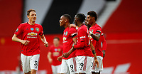 Football - 2019 / 2020 Premier League - Manchester United vs Southampton<br /> <br /> Anthony Martial of Manchester United celebrates at Old Trafford<br /> <br /> COLORSPORT/LYNNE CAMERON