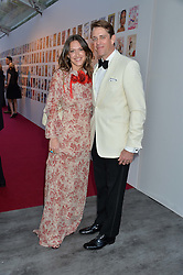 BEN & MARY CLARE ELLIOT at British Vogue's Centenary Gala Dinner in Kensington Gardens, London on 23rd May 2016.