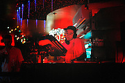 DJ Dirty Frank spins at Silk City for the Sundae Piazza after party in Northern Liberties in Philadelphia.