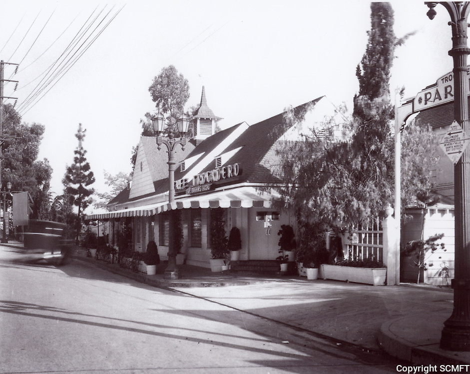 1935-6 Trocadero Cafe Nightclub on Sunset Blvd. in West Hollywood