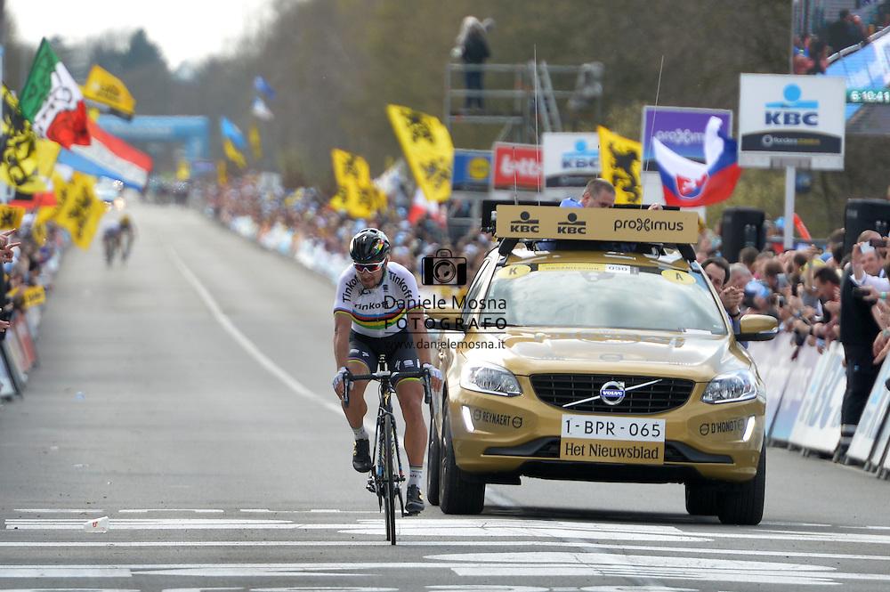 100° Giro delle Fiandre la De Ronde Van Vlaanderen,Brugge - Oudenaarde 255,9 km 255km Peter Sagan,3 Aprile 2016 © foto Daniele Mosna