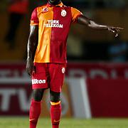 Galatasaray's Emmanuel Eboue during their Friendly soccer match Galatasaray between SS Lazio at the Ataturk stadium in izmir Turkey on Saturday 04 August 2012. Photo by TURKPIX
