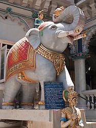 Elephant statue at Jain Temple, Mumbai