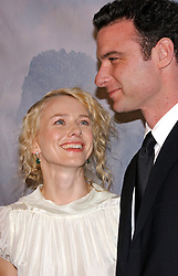 Australian actress and cast member Naomi Watts and her boyfriend American actor Liev Schreiber (in their very first public appearance) pose together as they arrive at the 'King Kong' World Premiere held at the Loews E-Walk and AMC Empire theatre, off Times Square, in New York, on Monday December 5, 2005. Photo by Nicolas Khayat/ABACAPRESS.COM  | 88252_02 New York City Unitd