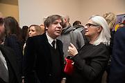 GEORGE CONDO; MONIKA SPRUTH, George Condo - private view . Simon Lee Gallery, 12 Berkeley Street, London, 10 February 2014