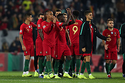 November 20, 2018 - Guimaraes, Guimaraes, Portugal - Portugal team during the UEFA Nations League football match between Portugal and Poland at the Dao Afonso Henriques stadium in Guimaraes on November 20, 2018. (Credit Image: © Dpi/NurPhoto via ZUMA Press)