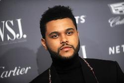November 2, 2016 - New York, New York, USA - The Weeknd attends the WSJ Magazine Innovator Awards 2016 at Museum of Modern Art on November 2, 2016 in New York City. (Credit Image: © Future-Image via ZUMA Press)