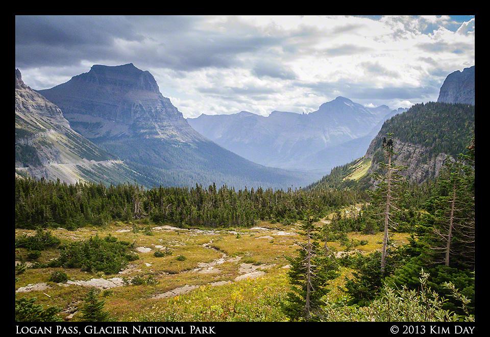 Logan Pass, Glacier National Park<br /> Montana<br /> September 2013