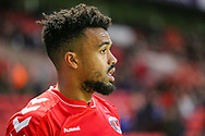 Charlton Athletic forward Nicky Ajose (25) during the EFL Sky Bet League 1 match between Charlton Athletic and Bristol Rovers at The Valley, London, England on 24 November 2018.