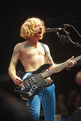 Biffy Clyro headline Sunday night on the main stage..Sunday at Rockness 2012..©Michael Schofield..